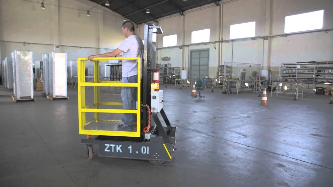 Mini plataforma elevatória