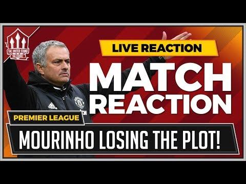 Huddersfield 2-1 Manchester United | Mourinho Madness Costs United! (видео)