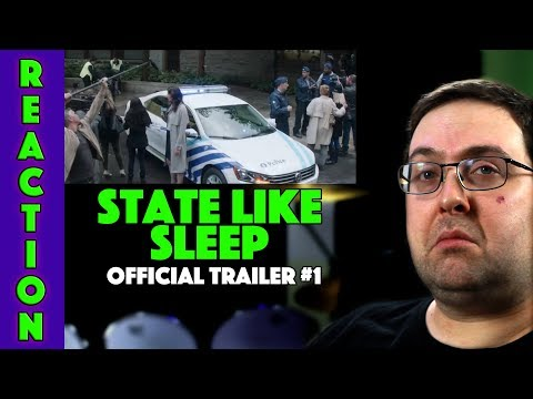 REACTION! State Like Sleep Trailer #1 - Katherine Waterston Movie 2019