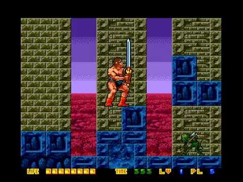 Rastan Saga II PC Engine