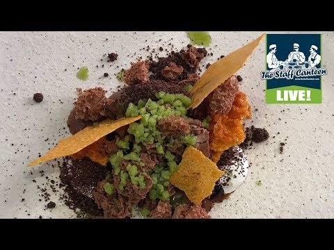 Michelin star chefs Sat Bains and John Freeman cook pigeon and chocolate recipes