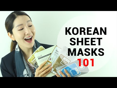 Korean Sheet Mask Review : How to Choose a Sheet Mask | Wishtrend