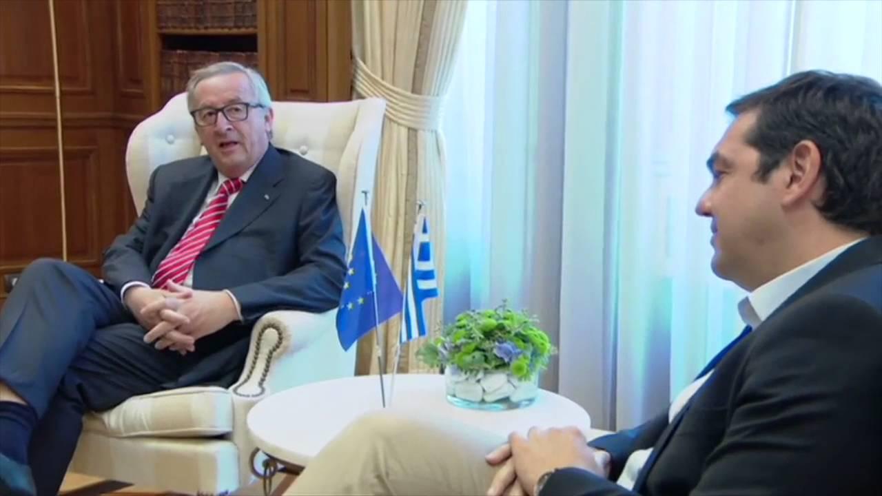 Συνάντηση με τον Πρόεδρο της Ευρωπαϊκής Επιτροπής κ. Ζ. Κ. Γιούνκερ
