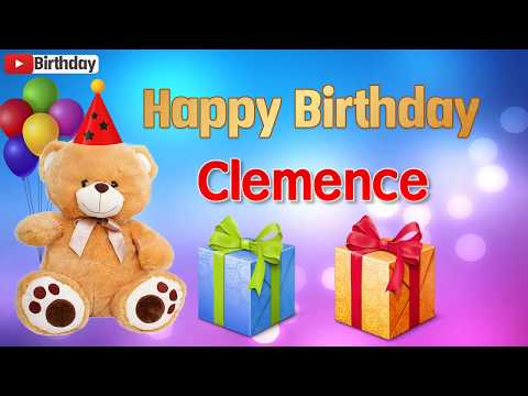 Happy birthday messages - Happy birthday Clemence