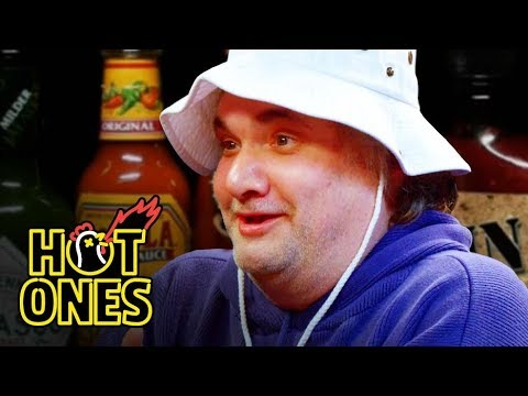 Artie Lange Is Raw and Uncensored While Eating Spicy Wings   Hot Ones