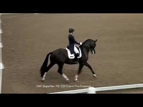 Charlotte Dujardin �s Valegro k�szen �ll a ri�i olimpi�ra