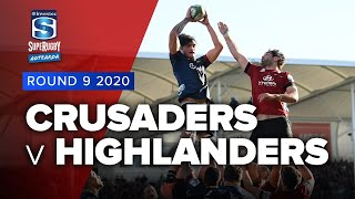 Crusaders v Highlanders Rd.9 2020 Super rugby Aotearoa video highlights