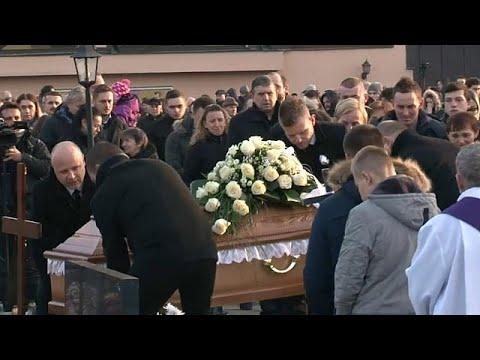 Ermordeter slowakischer Journalist Jan Kuciak beigese ...