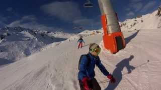 Zell am Ziller Austria  city pictures gallery : GoPro 3 - Skiing Austria (Zell Am Ziller 2014)