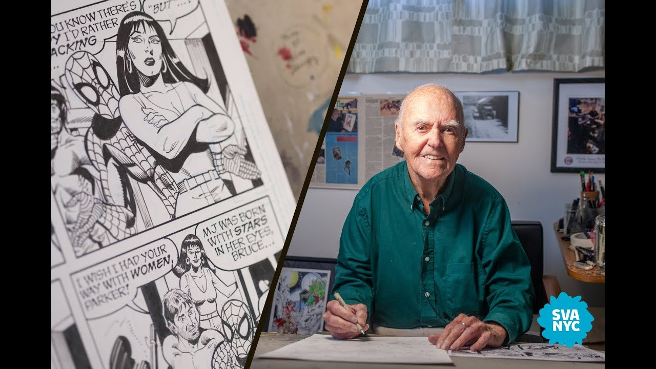 Joe Sinnott comic book artist.