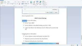 This vid contains directions on how to fix Windows Live Mail syncing error, e.g., 0x8DE00005, 80041004. See OP@...