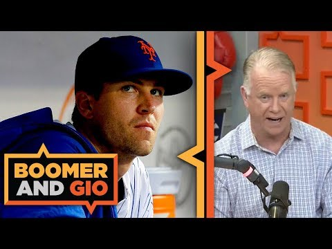 Video: Mets BIG trading pieces are DeGrom, Syndergaard, and Wheeler | Boomer & Gio