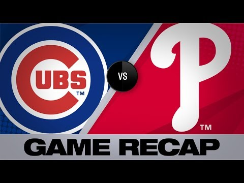 Video: Realmuto, Harper back Nola in 11-1 win | Cubs-Phillies Game Highlights 8/14/19