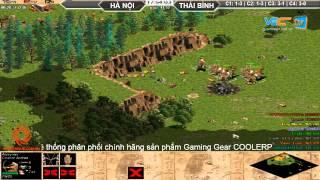 Hà Nội vs Thái Bình C5T1, Ngày 19072015, game đế chế, clip aoe, chim sẻ đi nắng, aoe 2015