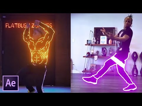 Glowing Lines Effect In After Effects | Blottermedia Dance Effects