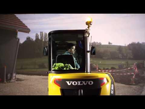 Volvo's compact excavators