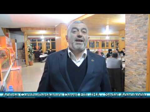 CUMHURBAŞKANI'NI TOSYA'YA DAVET ETTİ
