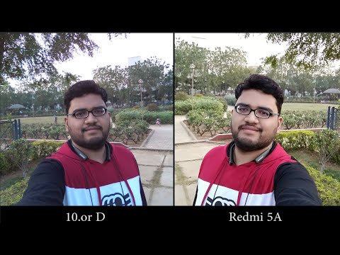 10 or D and Redmi 5A Camera Comparison