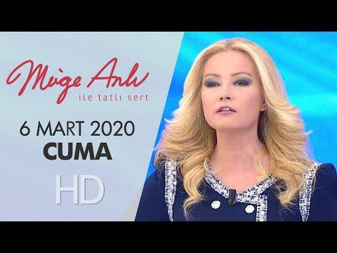 Müge Anlı ile Tatlı Sert 6 Mart 2020 | Cuma