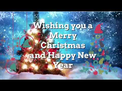 My Christmas card video