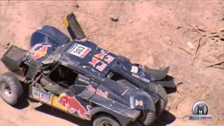 Dakar 2014 Carlos Sainz Accident