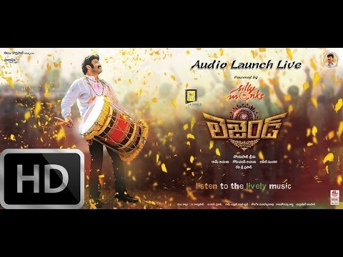Launch - Watch legend movie audio launch / audio function / music launch / music function / songs release / audio release today evening at youtube.com/vaaraahi, 7pm o...