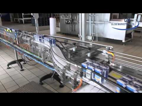 UHT Full Cream Liquid Milk Production In France By Glob Marketing – 200cc Packs
