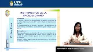 UTPL INSTRUMENTOS DE LA MACROECONOMÍA [(ECONOMÍA)(MACROECONOMÍA)]