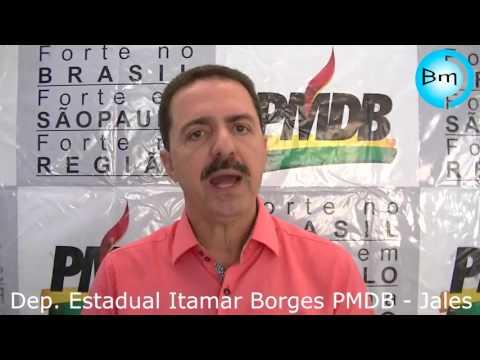 Jales - Itamar Borges fala do fechamentos do HC de Fernandópolis e eleições municipais em Jales.