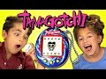 KIDS REACT TO TAMAGOTCHI (RETRO TOYS)