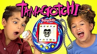 Video KIDS REACT TO TAMAGOTCHI (RETRO TOYS) MP3, 3GP, MP4, WEBM, AVI, FLV Oktober 2018