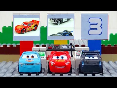 Cars and Track Experimental Disney Cars Toys Video for Kids