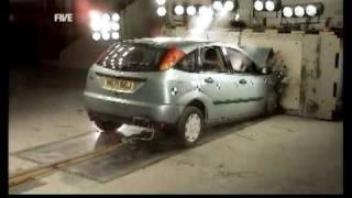 Fifth Gear - Rear occupants crash test - Ford Focus