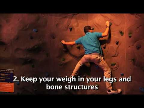How To Climb A Rock Wall
