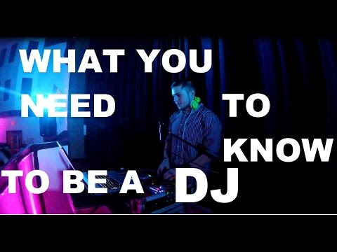 THE SECRETS TO BECOMING A DJ
