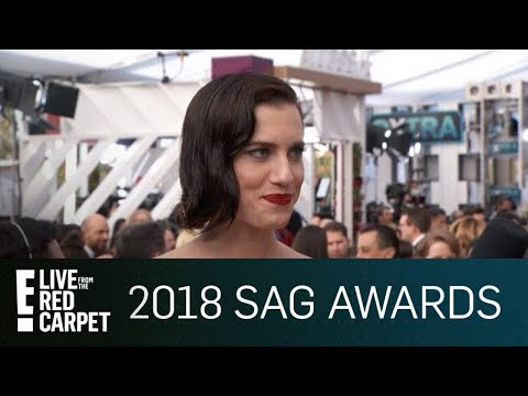 Allison Williams Talks Time's Up at 2018 SAG Awards | E! Live from the Red Carpet