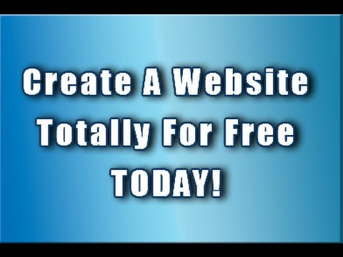 createfreewebsite1 - Create a website for free :: http://www.youtube.com/watch?v=MWCMH2e52aM Create a website for free by using 100% free tools.! Honestly, there is no catch! For...