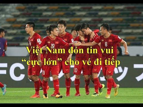 Tuyển Việt Nam hưởng lợi trong cuộc đua vào vòng knock-out Asian Cup 2019 - Thời lượng: 6:20.