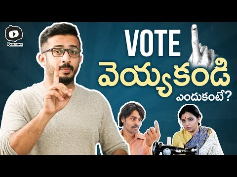 Election Day by Anchor Ravi | Use Your Valuable VOTE | Telangana Elections 2018 | Khelpedia