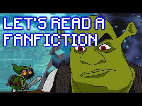 Guy reads poorly written Shrek Fanfic, can't stop laughing.