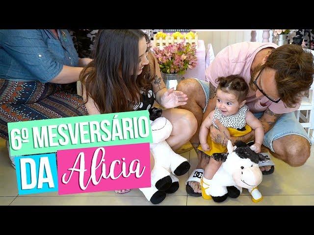 6º MESVERSÁRIO DA ALICIA - Taciele Alcolea
