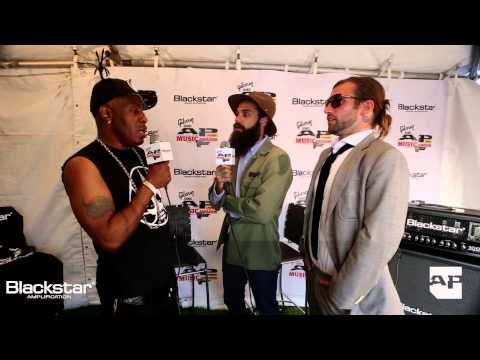 jason - Coolio chats with our Blackstar Amplification backstage lounge hosts Keith Buckley of Every Time I Die and Jason Aalon Butler of letlive. after performing