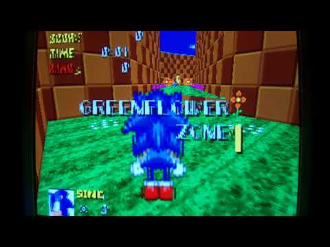 Amiga 1200 PPC:  Test Sonic Robot Blast 2 by HunoPPC (OS4.1)