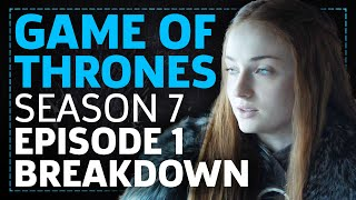 The GameSpot of Thrones gang are back to dissect the season seven premiere! Join Lucy, Dave, and Tamoor as they try to figure out Littlefinger's plans, prais...
