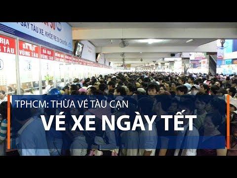 TPHCM: Thừa vé tàu cạn vé xe ngày Tết | VTC1 - Thời lượng: 59 giây.