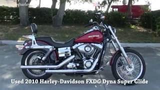 8. 2010 Harley Davidson Dyna Super Glide FXDG for sale Near Me