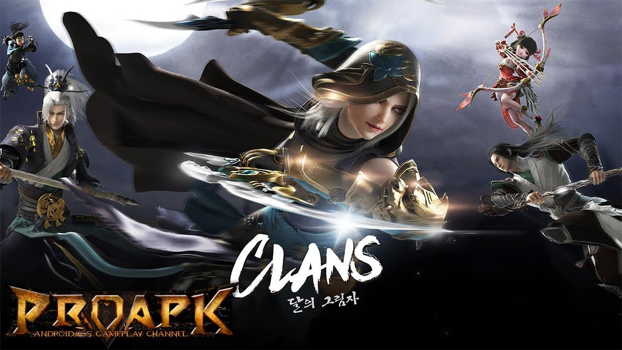 Clans: Shadow of the Moon - 클랜즈:달의 그림자(CBT)