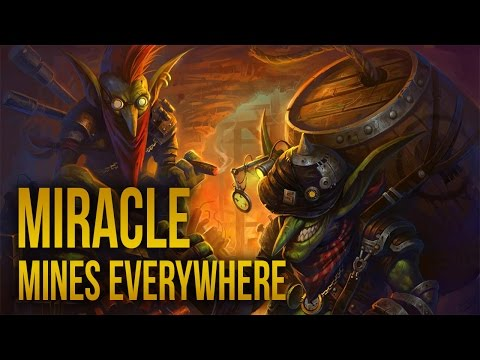 Miracle Techies Mines Everywhere