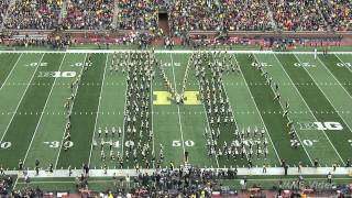 Pregame - The Michigan Marching Band