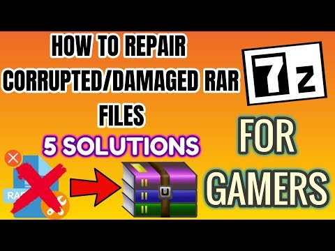 Video How to repair Corrupted/Damaged rar files|5 Solution|Video for Gamers|💯% Working download in MP3, 3GP, MP4, WEBM, AVI, FLV January 2017